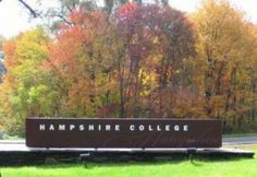 Hampshire College - Amherst, MA: A unique 800-acre campus of fields, nature trails and outdoor recreational space located within the historical Pioneer Valley. Hampshire College is close to major airports and highways making accessibility easy by car, plane and bus. The campus has year round meeting facilities that can accommodate groups from 10 to 600, as well as summer residential accommodations for up to 1,000.