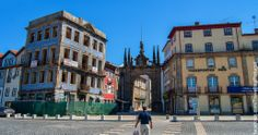Arch of Porta Nova, Braga Braga Portugal, Visit Portugal, Spain And Portugal, Sea Activities, Religious Architecture, Sunny Beach, Nova, Medieval Castle, Most Beautiful Cities