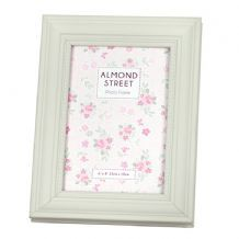 07bb9a113d73 Floral Photo Frame with Paper Back Design (6 x 4