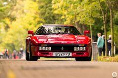 Ferrari 288 GTO au Zoute Grand Prix. Reportage complet : https://newsdanciennes.com/2017/10/15/zoute-grand-prix-2017-un-week-end-a-la-cote/