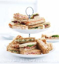 Afternoon Tea Sandwich Fingers (20 Sandwich Fingers)