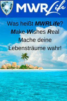 MWRLife bedeutet: Make Wishes Real. Mache dein Lebensträume war. Ist dein Lebenstraum viel zu reisen und damit noch ein Nebeneinkommen aufzubauen, dann siehe MWRLife an. Reisen zu den schönsten, exotischten Reiseorten dieser Welt. Und du wirst staunen wie günstig. #Reiseträume #Traumziele #Reisehighlights #Paradies #Urlaubsziele Management, Beach, Travel, Outdoor, Budget Travel, Holiday Destinations, Places, World, Nice Asses