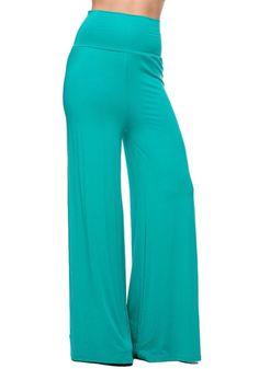 Pantsuits For Women, Palazzo Pants, Solid Colors, Bleach, High Waist, Wide Leg, Product Description, Pajama Pants, Diagram