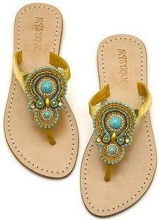 7ee8c84027a9 Living a Beautiful Life ~ Mystique Jeweled Sandals