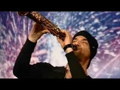 Julian Smith Plays Saxaphone Britain's Got Talent 2009 Auditions - YouTube