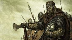 In the life of Gorm, he made a wrong move to attack Friesland in 934 where he lost to the hand of German King Henry I who was Christian. Accordingly, Gorm had to make some toleration to the Christianity as well as lost some lands. Gorm died a few years later leaving his throne to Harald Bluetooth. Ancient Vikings, Norse Vikings, Thor, Deadliest Warrior, Medieval, Vegvisir, Asatru, Viking Warrior, Viking Tattoos