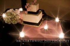 cake and candle light