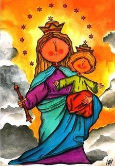 María Auxiliadora: vivir bajo el auxilio de María, auxiliar a los hermanos