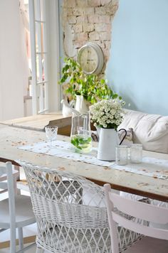 Decoration Teak, Ali, Dining Table, Rustic, Decoration, Furniture, Home Decor, Projects, Country Primitive
