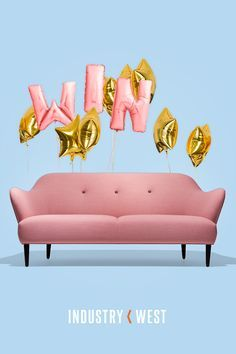 Win A NEW SOFA worth Up To $4,000! From the good folks at Industry West. Ends July 10, 2017