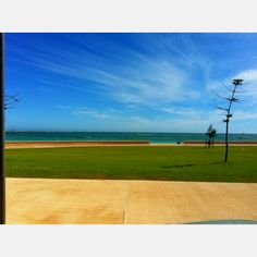 Geraldton, down at the forshore.
