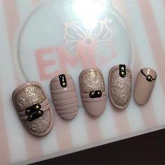 emiroshnichenko | User Profile | Instagrin 3d Nail Art, 3d Nails, Love Nails, Pink Nails, School Nails, Geometric Nail, Beautiful Nail Designs, User Profile, Nailart