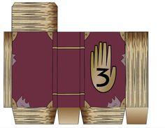 Gravity Falls Printable Journal