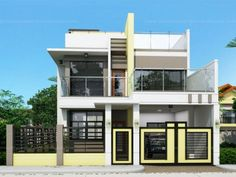 Modern House Design sheryl - four bedroom two story house design | pinoy eplans