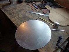 How to make armour - because these are the useful life skills Sword Craft, Celtic Clothing, Knife Making Tools, Blacksmith Forge, Iron Work, Knives And Swords, Metal Crafts, Metalworking, New Hobbies