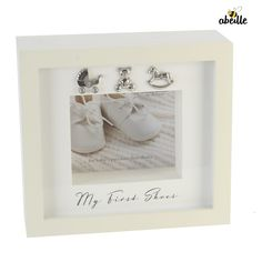 Buy Bambino by Juliana Baby's First Shoes Display Box from Tiger Feet Party. Bambino by Juliana Baby's First Shoes Display Box Cherish your baby's first Shoe Display, Display Boxes, Shoe Shine Box, Baby Christening Gifts, Baby Boy Shoes, Cool House Designs, New Baby Gifts, Box Frames, Keepsake Boxes
