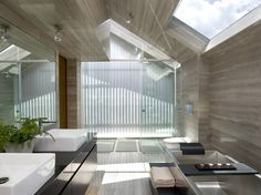 OOI House / Czarl #Architects - beautiful bathroom!