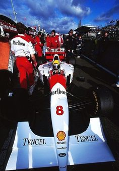 ——— Legend —– Ayrton Senna ~ McLaren-Ford MP48 ~ 1993 Japanese GP, Suzuka ——