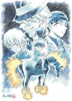 Detective Conan: The Darkest Nightmare Movie 20 Conan Movie, Detektif Conan, Anime Nerd, Manga Anime, Ghibli, Nightmare Movie, Otaku, Movie 20, Gosho Aoyama