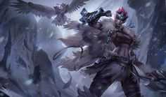 Quinn de la Tribu Woad, en el Fréljord | League of Legends