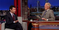 NATHAN FIELDER Reveals His Greencard Secret on Letterman