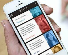 Design quotes app