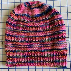 """Free Hat Pattern Knit in """"Mad Hatter"""" – New England's Narrow Road"""