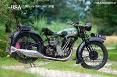 BSA Sloper 500ohv 1929