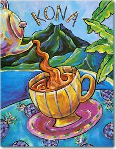 """Kona coffee has a richer flavor than any other"" - Mark Twain, 1866"