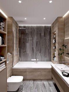 Stunning Cute Minimalist Bathroom Design Ideas For Your Inspiration. - Stunning Cute Minimalist Bathroom Design Ideas For Your Inspiration. Minimalist Bathroom Design, Minimal Bathroom, Bathroom Layout, Bathroom Wall Decor, Modern Bathroom Design, Bathroom Interior Design, Bathroom Ideas, Bathroom Designs, Bathroom Organization