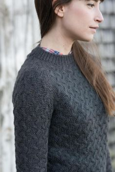 Coastal knitting pattern by Hannah Fettig (Knitbot), part of her choices for selfish knitting in January