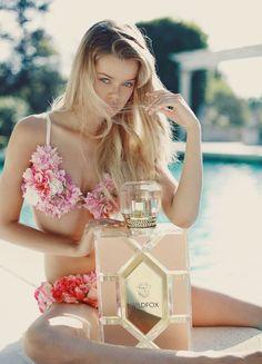 Frida Aasen - Wildfox The Fragance Photoshoot