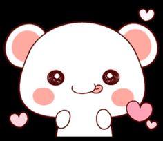 ♡♡蓬鬆小熊 2♡♡ - LINE 個人原創貼圖