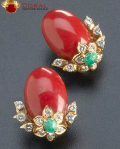 Add more class your to your attire with #coral , #diamond and #turquoise #studs from http://coral.org.in/ #jewelry #fashionable #stylish #earrings