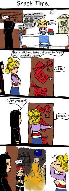 Naruto fan art | naruto fan comic snack time by tmeher fan art manga anime traditional ...