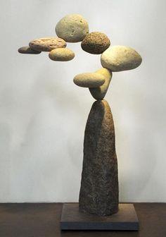Woods Davy, la geometría del equilibrio en piedra. | Matemolivares