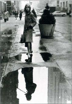 Jean Shrimpton, New York 1962 by David Bailey for British Vogue