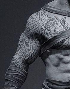 Viking Rune Tattoo, Viking Tattoo Sleeve, Norse Tattoo, Inca Tattoo, Celtic Tattoos, Viking Tattoos, Sleeve Tattoos, Wiccan Tattoos, Viking Symbols