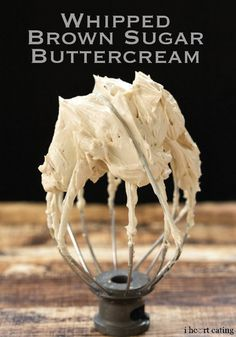 This Whipped Brown Sugar Buttercream makes the perfect dip recipe to pair with STACY'S Cinnamon Sugar Pita Chips!