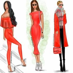 When I haven't any blue I use red ❤ @brooklynblonde1 @stilettoconfessions @lilya_kuznesova  ______________________________ #LilyFashionSketch #fashionillustration #fashionsketch #fashionblogger #illustration #sketch #artshelp #art #illustration #arts_help #artwork #photooftheday #outfit #ootd #ootn #lookbook #lookoftheday #streetstyle #streetfashion #redcolor #lookoftheday #colorinspiration #trenders