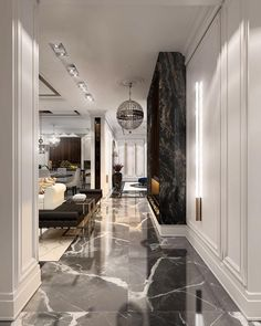 18 Luxury Entryway Decoration Ideas You Have To Know – Welcome to our gallery which displays the unique design of the entrance (porch) in luxury homes to find decorating inspiration ideas. Modern House Design, Modern Interior Design, Interior Design Living Room, Living Room Designs, Living Rooms, Classic Interior, Contemporary Design, Living Spaces, Luxury Homes Interior