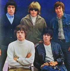 Rolling Stones, Mick Jagger, Keith Richards, Brian Jones, Charlie Watts, Bill Wyman
