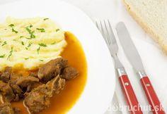 Azu po tatársky Pos, Mashed Potatoes, Beef, Ethnic Recipes, Whipped Potatoes, Meat, Smash Potatoes, Steak