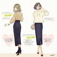 meeco/みーこさんはInstagramを利用しています:「今日はアラジンコーデです☺️ちょっとやんちゃな彼氏くんとお姉さんな彼女ちゃんイメージ…❤️ #イラスト #イラストレーター #ファッションイラスト #ファッション #デートコーデ #ディズニーコーデ #ファッションコーデ #ネイル #アラジン #ジャスミン #aladdin」 Love Fashion, Fashion Art, Girl Fashion, Fashion Outfits, Ulzzang Fashion, Korean Fashion, Cute Art Styles, Anime Dress, Fashion Design Sketches