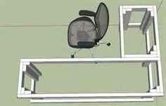 Diy L Desk Plans - The Best Image Search