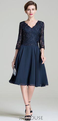 #jjshouse #motherofthebride #dress #darknavy  #lace #chiffon