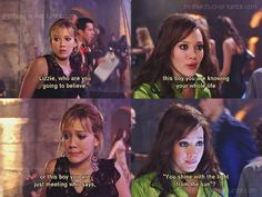 Lizzie McGuire. I loved this show!! And especially the movie <3