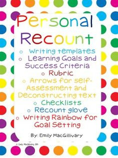 recount writing topics What you're looking for is a particular incident that you can recount in a well richard 50 topic ideas for your narrative essay com/writing-topics.