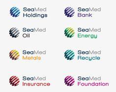 Seamed Holding Complete Brand Identity System, plus sub branding and web design & development 2 Logo, Logo Branding, Branding Design, Logo Design, Graphic Design, Family Logo, Family Brand, Visual Identity, Brand Identity