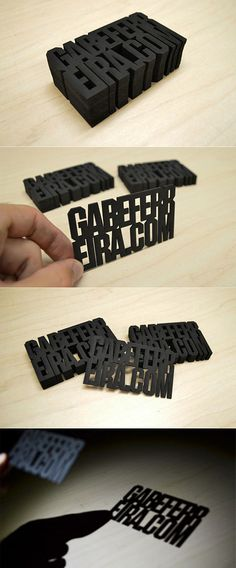 Laser Cut Business Cards | Business Cards | The Design Inspiration